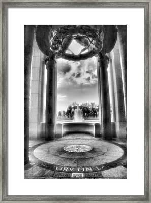 World War II Memorial Framed Print by Steven Ainsworth