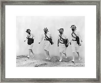 World War II: Nurses Framed Print by Granger