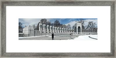 World War II Panorama Framed Print