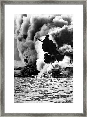 World War II, Pearl Harbor, Hawaii Framed Print