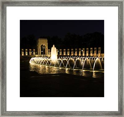 World War Memorial Framed Print