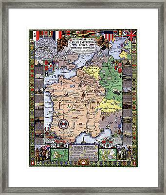 World War One Historian's Panel Framed Print by Daniel Hagerman