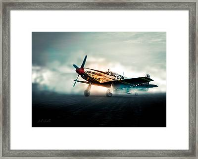 World War Two North American Tp-51c Mustang Framed Print