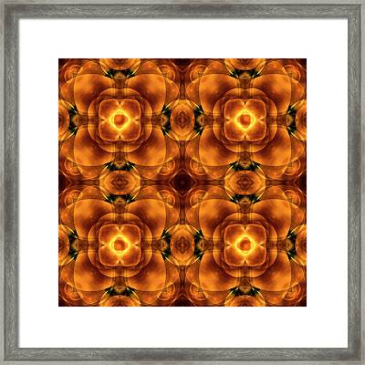 Worlds Collide 8 Framed Print