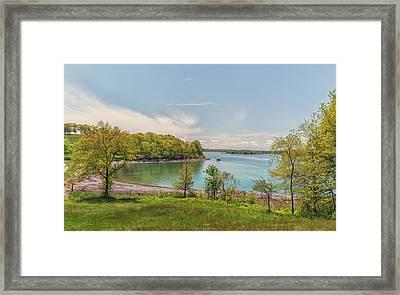 Worlds End Hingham Massachusetts Framed Print