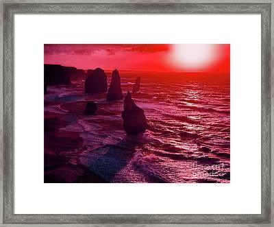 World's End Framed Print