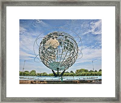 World's Fair Queens 1964 Framed Print by Chuck Kuhn