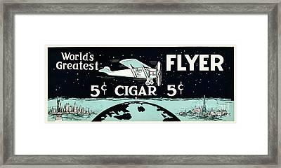 Worlds Greatest Cigar Framed Print