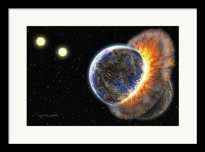 Terrestrial Paintings Framed Prints