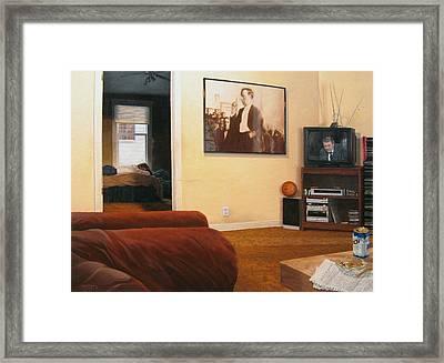 Worlds Framed Print by Jeffry Krafft