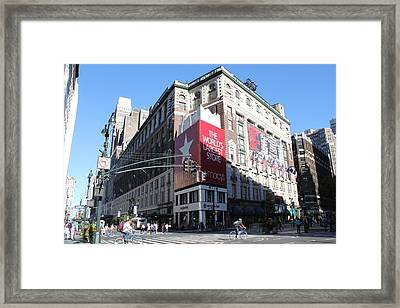 Framed Print featuring the photograph Worlds Largest Store by David Grant