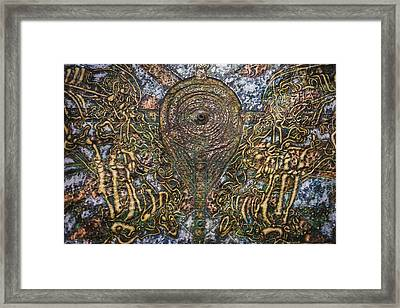 Worlds Visible And Invisible Framed Print