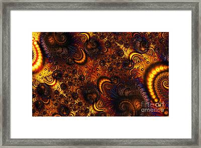 Worm Infestation Framed Print by Clayton Bruster