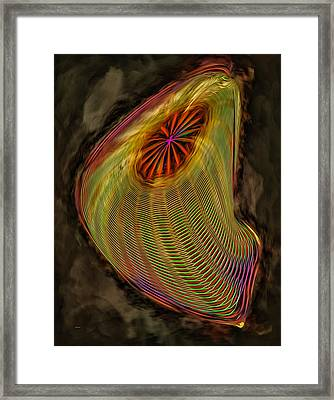 Wormhole In Space Framed Print by John M Bailey