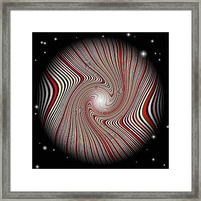 Wormhole Trip 2 Framed Print