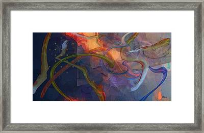 Wormholes Framed Print