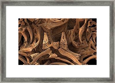 Wormwood Framed Print by Lyle Hatch