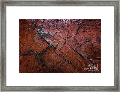 Worn And Weathered Framed Print