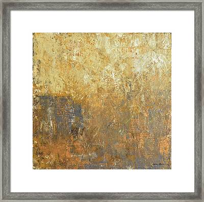 Worn Away Framed Print