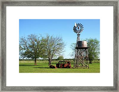 Worn Down Framed Print