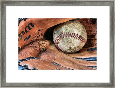 Worn In Framed Print by JC Findley