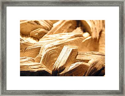 Worn Life Framed Print by Jez C Self