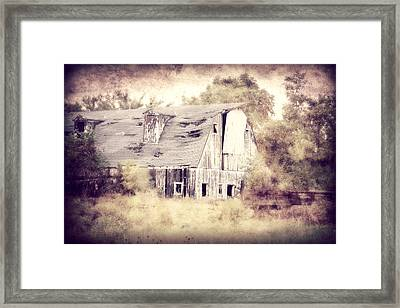 Worn Out Framed Print by Julie Hamilton