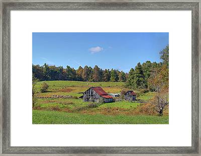 Framed Print featuring the digital art Worn Out by Sharon Batdorf