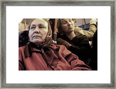Worried And Tired Framed Print by Jez C Self
