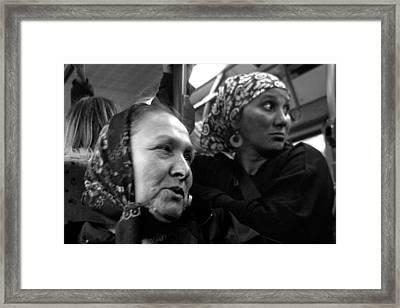 Worried Framed Print by Jez C Self
