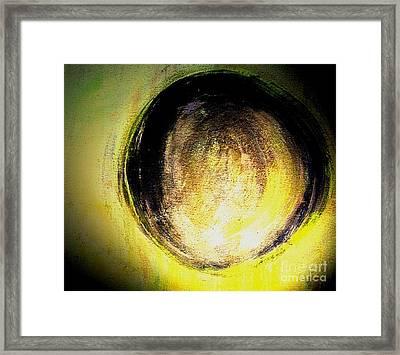 Worrying The Sun Framed Print by Mechelle Rene