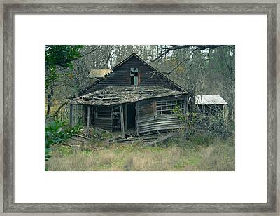 Worse For Wear Framed Print by Marie Neder