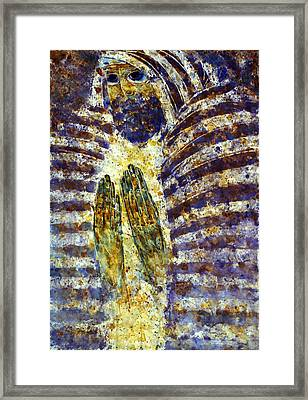 Worship B Framed Print