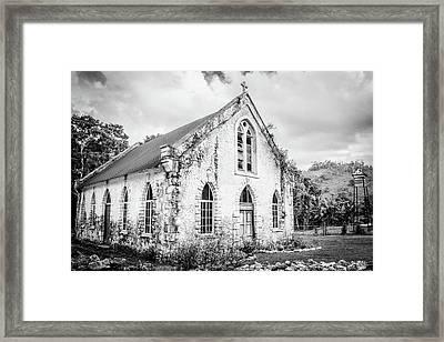 Worship Framed Print