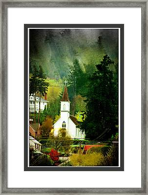 Worship In Kalama Framed Print by Dale Stillman