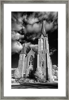 Worship Framed Print by James Barber