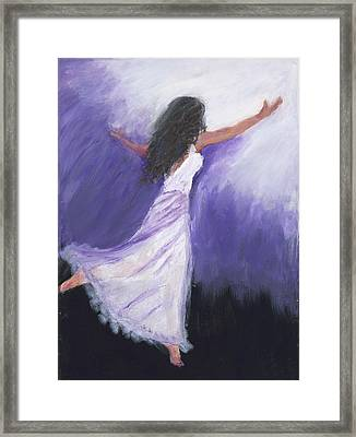 Worship Framed Print by Maggie  Morrison