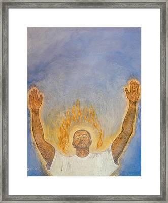 Worship  Framed Print by Nigel Wynter