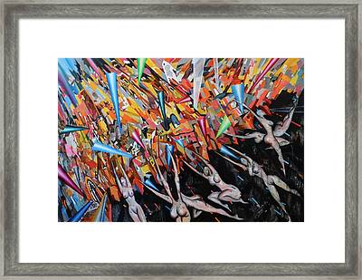 Worship Framed Print by Wei Pan