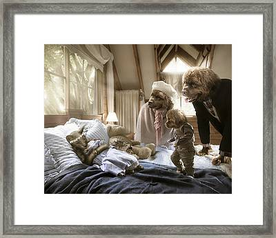 Worst Nightmare Framed Print by Karen Alsop