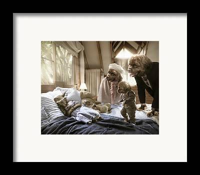 Goldilocks Digital Art Framed Prints