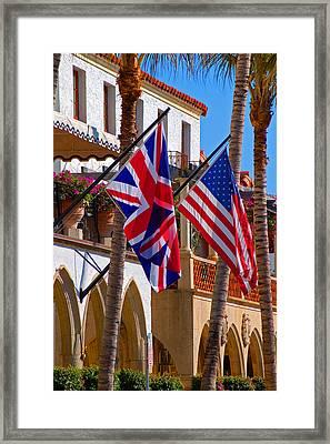 Worth Flags Framed Print