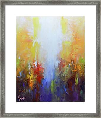 Worthy Is The Lamb Framed Print by Mike Moyers