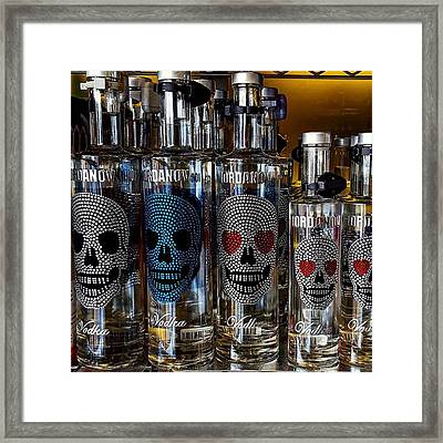 Would You Drink This #vodka? Also What Framed Print by Dante Harker