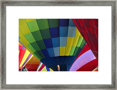Wouldn't You Like To Fly Framed Print by Tammy Espino
