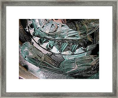 Wound Tight Framed Print by Ron Bissett