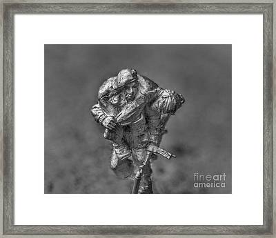 Wounded Warrior Framed Print by Randy Steele