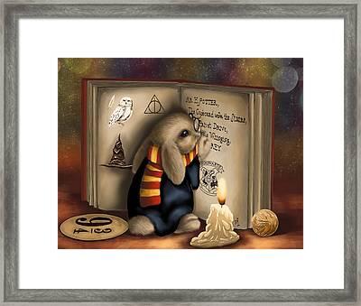 Wow I'm Harry Potter Framed Print