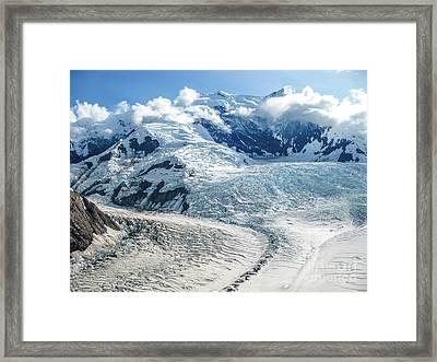 Wrangell Alaska Glacier Framed Print