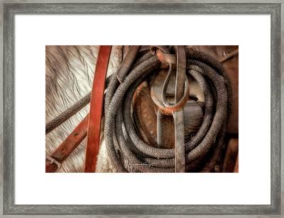 Wrangler Tools Framed Print